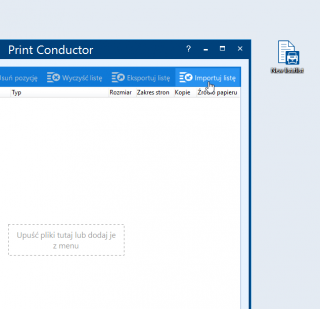 Print documents in landscape or portrait orientation